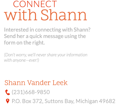 Connect with Shann